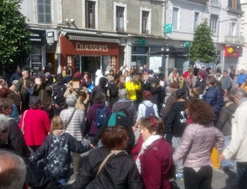 Cercle de silence massif ce dimanche 12 mai à Montluçon.