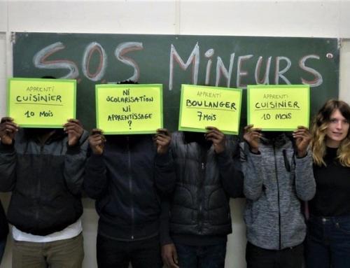 Pétition pour le respect du droit à la formation des mineurs isolés dans l'Allier.
