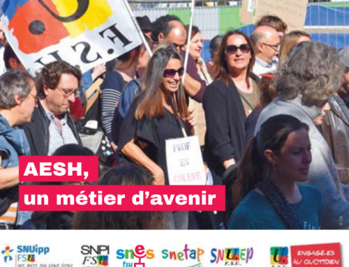 AESH : vers l'action.