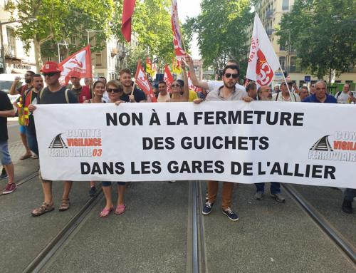 A l'occasion du 5 décembre, contre la répression antisyndicale.