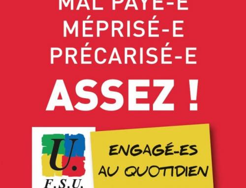 AESH : courrier de la FSU à Mme la DASEN.