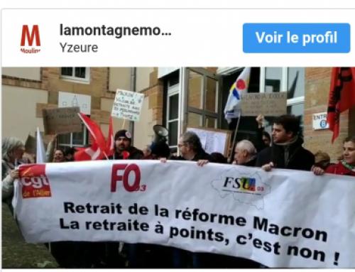 20 février : RETRAIT de la loi Macron contre les retraites.
