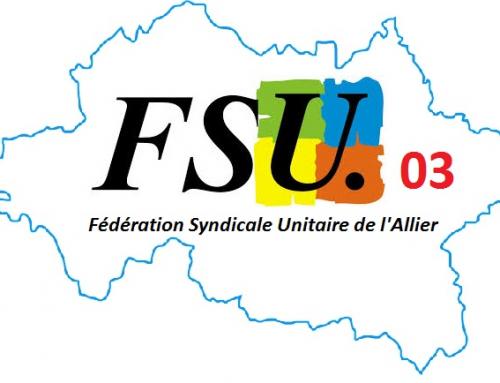 11 mai : la FSU 03 s'adresse aux maires du département.