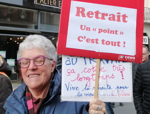 Rentrée : le message des camarades retraités.