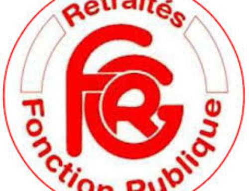 Salut fraternel à l'assemblée générale de la FGR-FP.