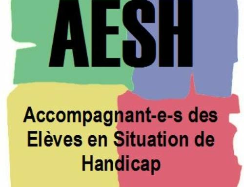 AESH Auvergne stop au scandale.